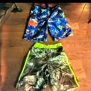 Bundle of  two swimming trunks for boys